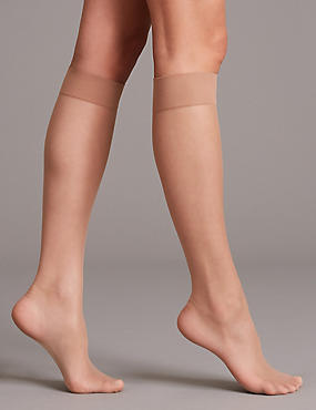3 Pair Pack 7 Denier Sheer Tights              , NATURAL TAN, catlanding