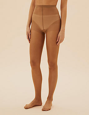5 Denier Cool Comfort™ Bare Cooling Oiled Look Tights