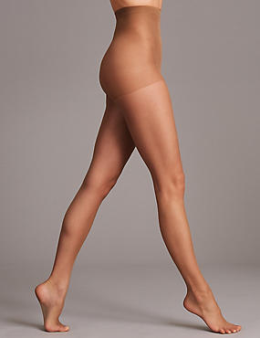 5 Denier Bare Invisible Sheers Tights , NUTMEG, catlanding