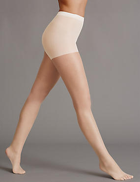 5 Denier Cool Comfort™ Bare Invisible Tights 1 Pair Pack