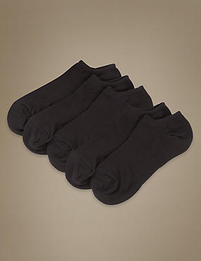 No Show Ultimate Comfort Sports Trainer Liner™ Socks 5 Pair Pack