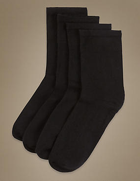 4 Pair Pack Lightweight Ultimate Comfort Socks