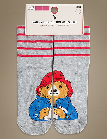 Paddington™ Ankle High Socks