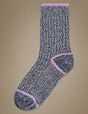 Heavyweight Ankle High Boot Socks