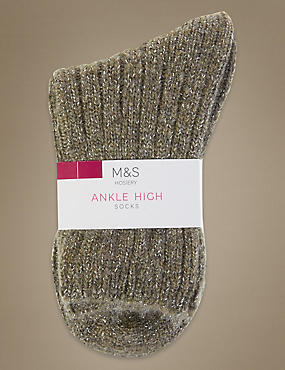 Sparkle Ankle High Socks