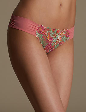 Rio Low Rise Printed Bikini Knickers