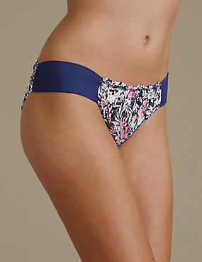 Rio Sweetheart Ombre All Over Lace Low Rise Brazilian Knickers