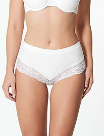 No VPL Cotton Rich Brazilian Knickers