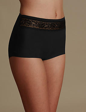 Smoothlines™ No VPL Lace High Rise Full Briefs