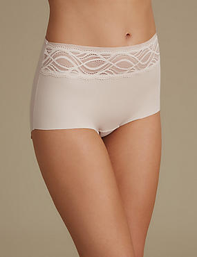 No VPL Curve Smooth Lines Full Briefs, ALMOND, catlanding