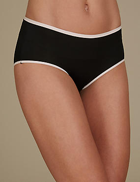 5 Pack No VPL Midi Knickers