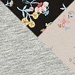 3 Pack Cotton Rich Midi Knickers, BLACK MIX, swatch
