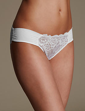 Rio Sweetheart All Over Lace Low Rise Bikini Knickers