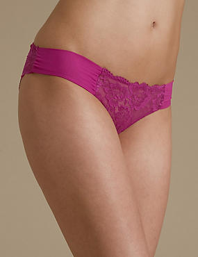 Rio Sweetheart All Over Lace Brazilian Knickers