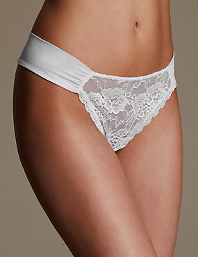 Rio Sweetheart All Over Lace Thong