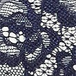 Floral Lace Thong, INDIGO, swatch