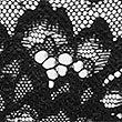 Lace Brazilian Knickers, BLACK, swatch