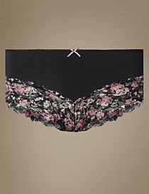 Isabella Lace Printed Midi Knickers