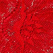 Sheen & Lace Brazilian Knickers, RED, swatch