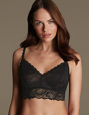 Isabella Lace Set with Crop Top