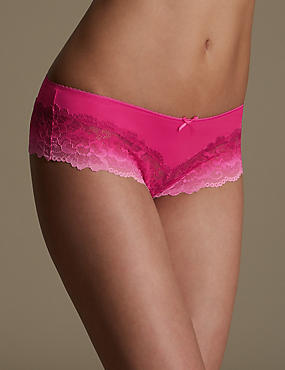Isabella Floral Lace Brazilian Knickers