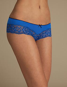 Brazilian Knickers, BRIGHT BLUE, catlanding