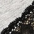 Cotton Blend Brazilian Knickers, GREY MARL, swatch