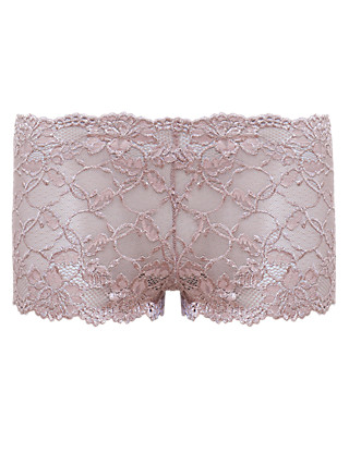 All-Over Lace High Rise Shorts Clothing