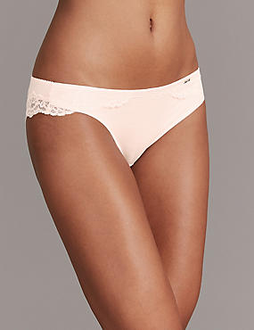 Lace Brazilian Knickers with Cashmere