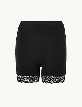 Cotton Rich High Rise Longline Shorts