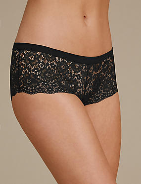 Vintage Lace Low Rise Shorts