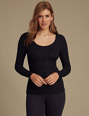 Heatgen Plus™ Thermal Long Sleeve Top, , catlanding