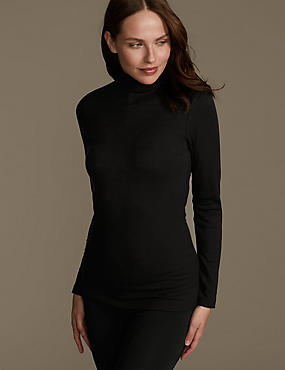 Heatgen™ Thermal Long Sleeve Polo Neck Top