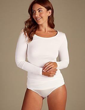 Heatgen™ Thermal Long Sleeve Top, CREAM, catlanding