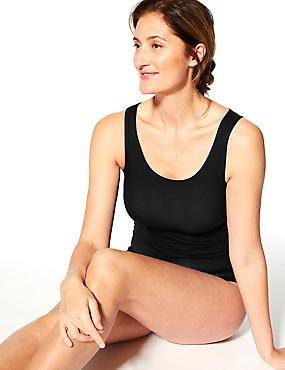 Heatgen™ Thermal Built-up Shoulder Vest, BLACK, catlanding
