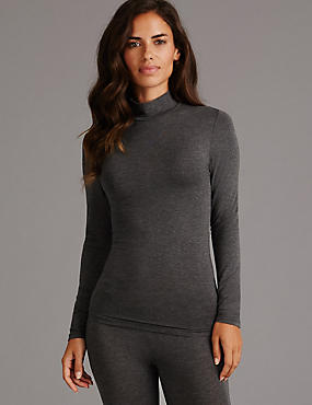 Thermal Top & Leggings Set with Cashmere