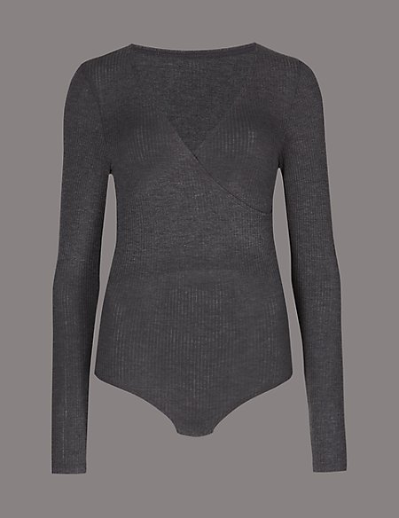 Ribbed Thermal Long Sleeve Body