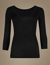 Heatgen™ Thermal 3/4 Sleeve Top