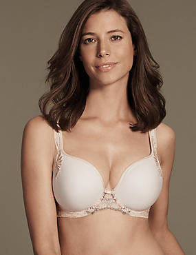 Ophelia Embroidered Spacer Balcony Bra DD-GG with Cool Comfort™ Technology