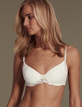 Ophelia Embroidered Spacer Padded Full Cup B-DD