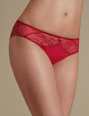 Arelia Lace High Leg Knickers