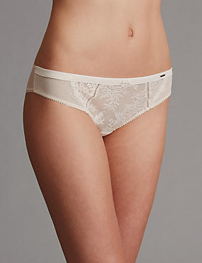 Lisette Lace Low Rise Brazilian Knickers