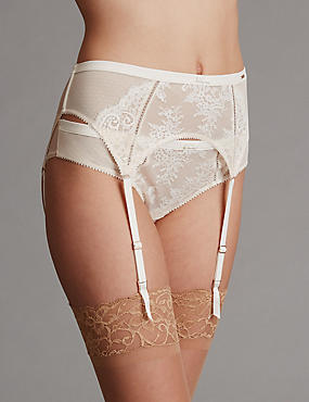 Lisette Lace Bridal Suspender