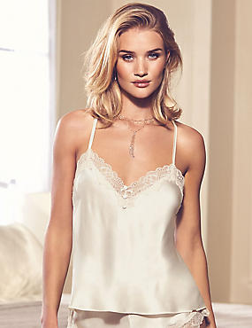 Silk & Lace Swing Camisole