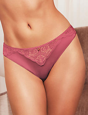 Silk & Lace Brazilian Knickers
