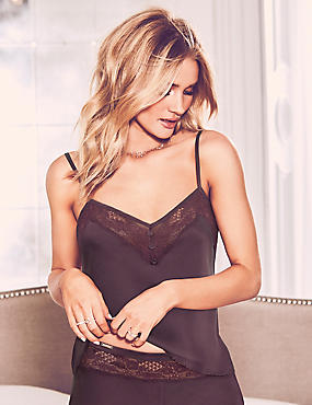 Silk & Lace Set with Camisole