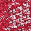 Lace Non-Padded Plunge Bra B-DD with Silk, DARK RED, swatch