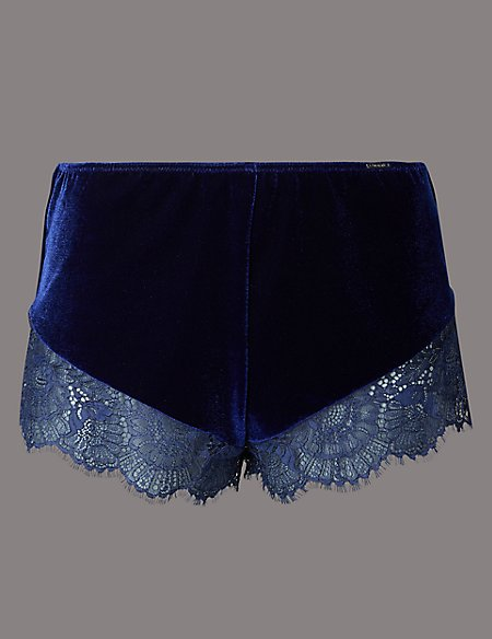 Velvet & Lace French Knickers