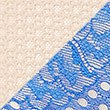 2 Pack Textured Lace Brazilian Knickers, BLUE MIX, swatch