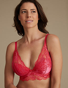 Artisan Lace Set with Plunge DD-GG